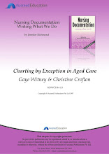 Charting by Exception in Aged Care