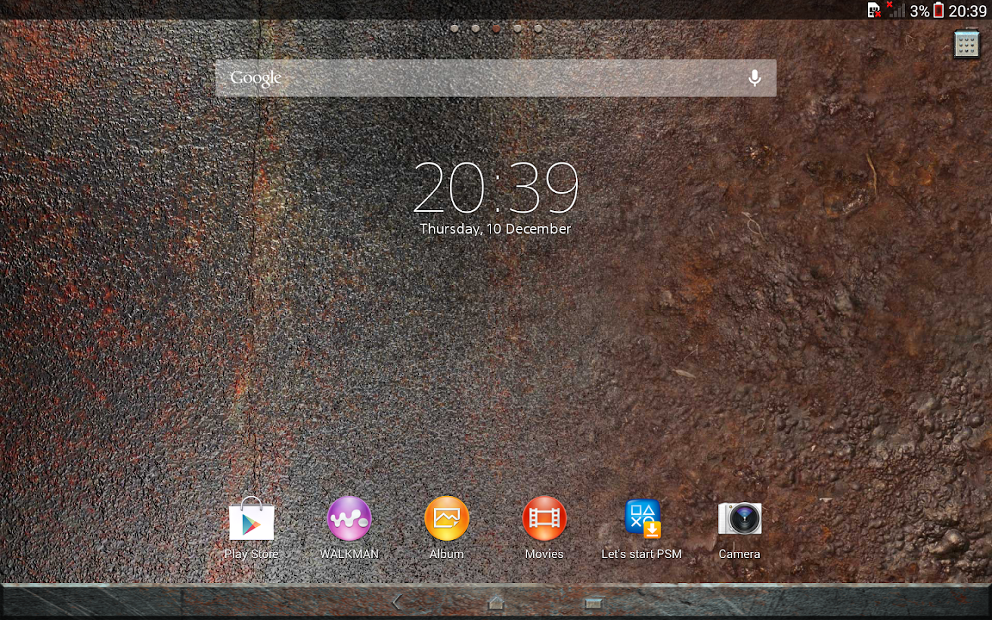 Google themes normal