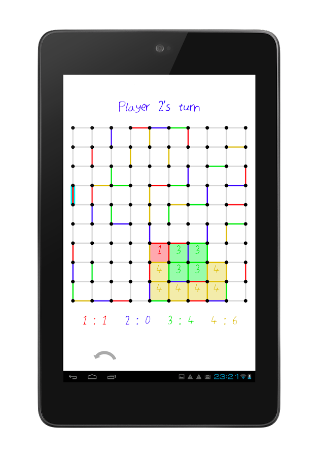 Dots and Boxes / Squares- screenshot