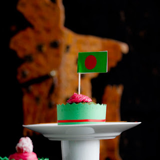 In Honor of Bangladesh'S Victory Day – All Natural Green Velvet Cupcake Recipe