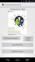 Screenshot of Smashing Android UI Companion