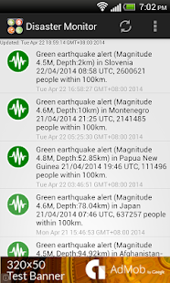 Natural Disaster Monitor - screenshot thumbnail