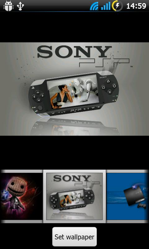TSF Shell Theme Sony Consoles - screenshot