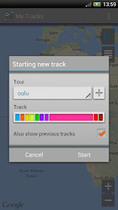 My Tracks screenshot 1