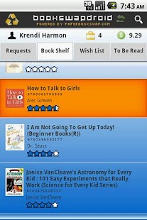BookSwapDroid FREE - screenshot thumbnail