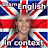 Learn English in context logo
