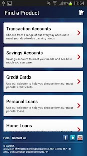 BankSA Mobile Banking App - screenshot thumbnail