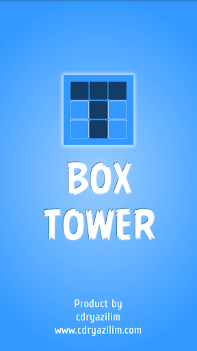 Flat Box Tower Game