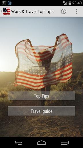 工作和旅遊熱門技巧美國