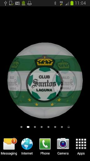 Ball 3D Santos Laguna LWP