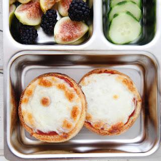 English Muffin Pizza.
