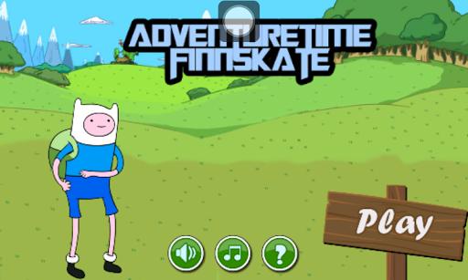 Adventure Time Finn Skate