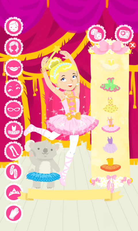 Ballet Fashion Show Dress Up- screenshot