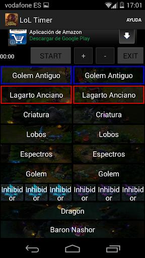 LoL Timer League of Legends
