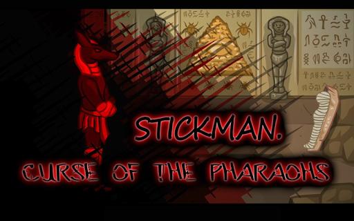 Stickman Curse of the Pharaohs
