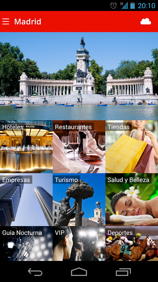 App Madrid Guide Madrid- screenshot