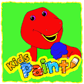 Kids Paint Barnie