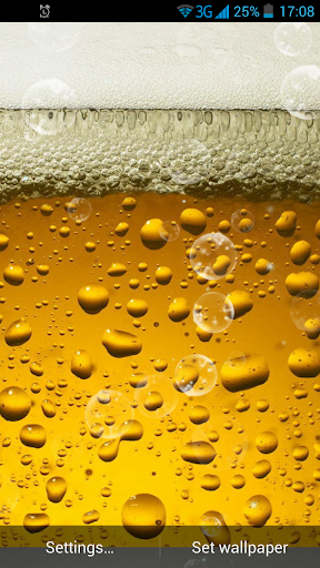 啤酒動態壁紙