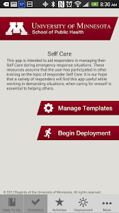 Responder Self Care - screenshot thumbnail