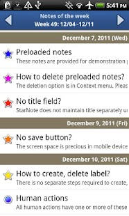 Notepad - Star Note Pro - screenshot thumbnail