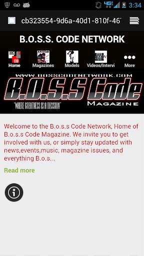 BOSS CODE NETWORK