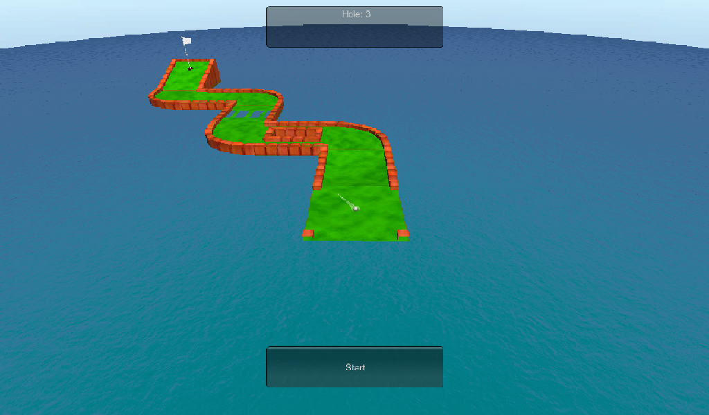 Par 5 Mini-Golf- screenshot