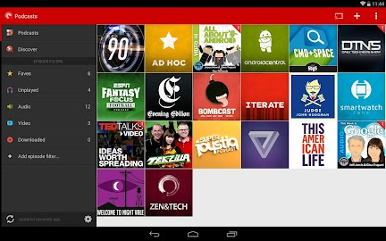 Pocket Casts Screenshot 1