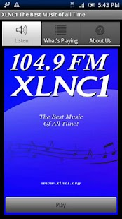 104.9 FM XLNC1 - screenshot thumbnail