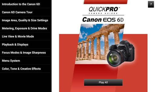 Guide to Canon 6D