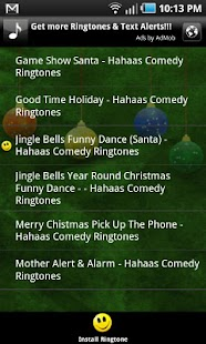 100 Christmas Ringtones (Free) - screenshot thumbnail