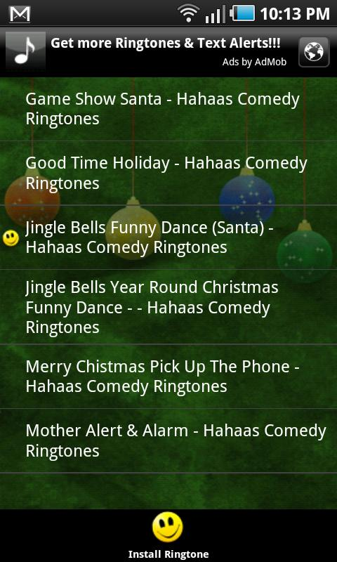 100 Christmas Ringtones (Free) - screenshot
