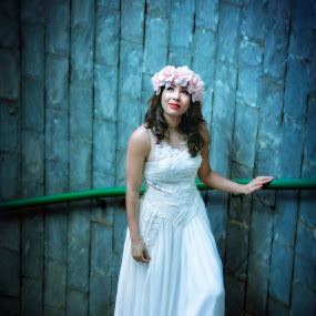 Bride by May Myat Kyaw - Wedding Bride ( dream, art, bride, fantastic, portrait )