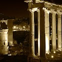 Ancient Rome Roman Forum logo