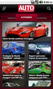Autoesporte News Mobile - screenshot thumbnail