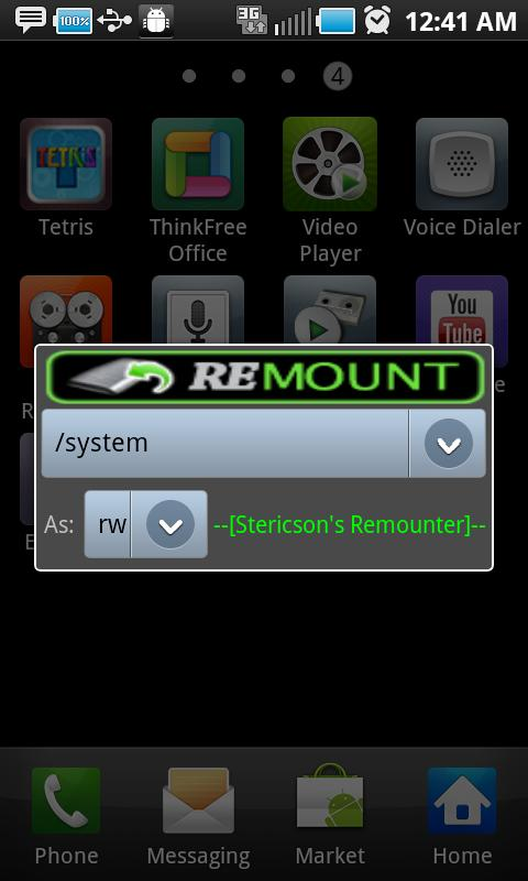 Remount- screenshot