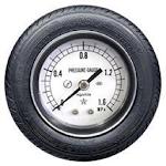 Tire pressure converter