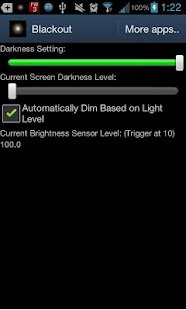 BlackouT Screen Dimmer Screenshot