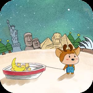 帶著月亮去旅行動態壁紙 個人化 App LOGO-硬是要APP