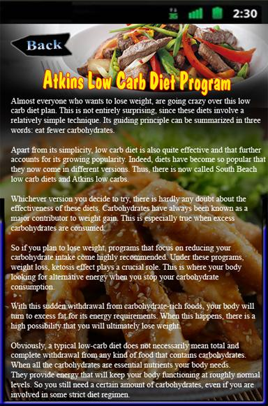 Atkins Low Carb Diet Program - Android Apps on Google Play