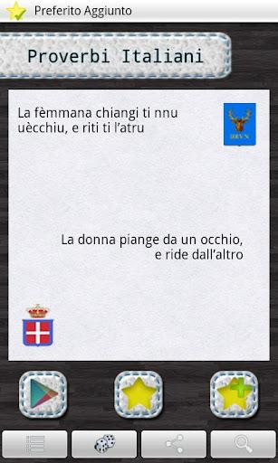 Proverbi Italiani per regione