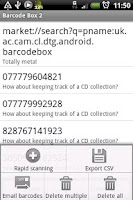 Screenshot of Barcode Box 2