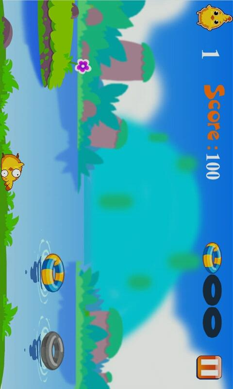 Chick Swimming - screenshot