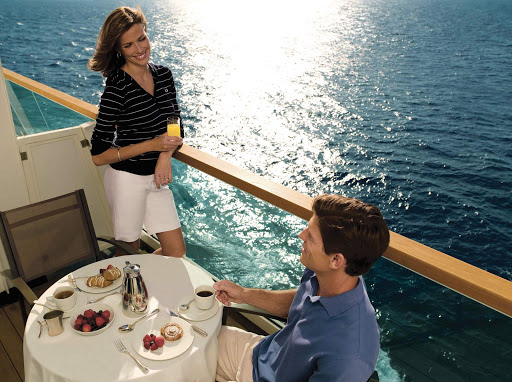 Seabourn_al_fresco_dining - Take advantage of al fresco dining aboard a Seabourn ship, day or night.