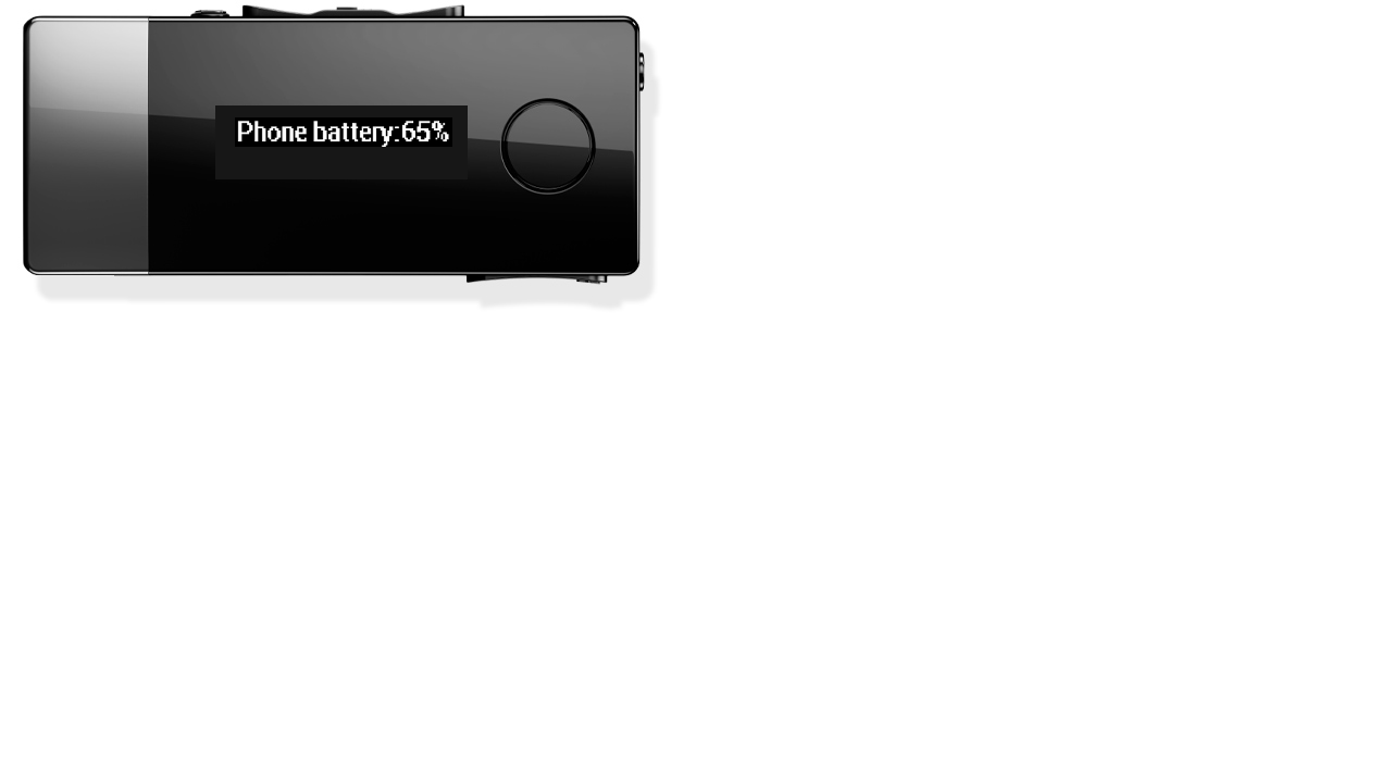 SmartWatch Phone Battery Level - screenshot