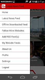 Inbox My Articles News Reader- screenshot thumbnail
