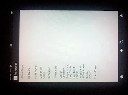 Orthodox Prayer Book Kindle screenshot