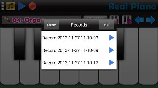 Real Piano screenshot