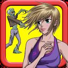 女孩與殭屍:運行和大通 icon