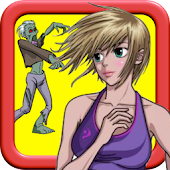 Girl vs Zombie: Run And Chase