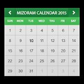 Mizoram Calendar